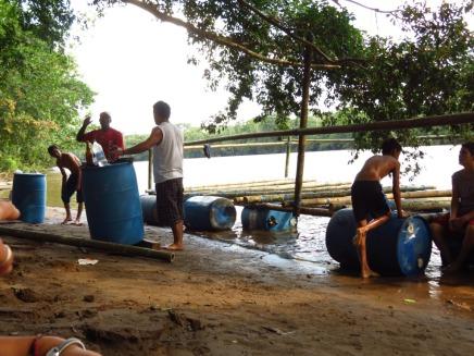 Installing the barrels