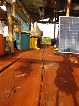 Our new floor and Solar Panel