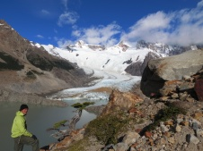 El Chalten National Park: The first vision of a bamboo raft was discussed while we hiked this beautiful National Park