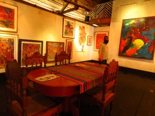 Dinning Room, among his paintings