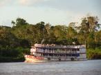 Beautiful Brazilian wooden river ships
