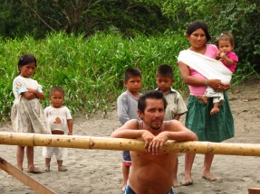 Indigenous people, looking to talk and to trade