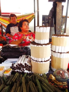 Tobacco Traders at the Iquitos Market